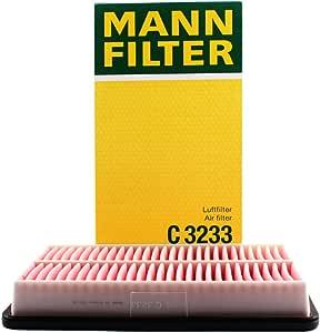 MANNFILTER 曼牌滤清器 空气滤清器C3233(奔腾B50/B70/马自达6/睿翼/MPV)