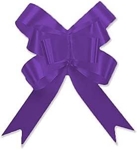 Berwick Offray 魔法灿烂蝴蝶蝴蝶结 - 直径 5.08 厘米 X 8 环 紫色 3900009