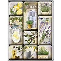 Nostalgic-Art Home & Country 磁铁套装(9 件套) Home & Country - Mediterranean 83068