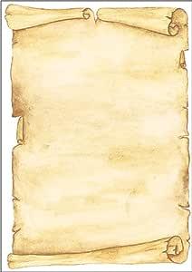 Sigel 主题印花纸张 羊皮纸 Motiv Pergament, 100 Blatt Motiv Pergament, 100 Blatt