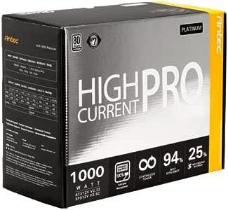 Antec 安钛克 HCP1000 Platinum 全模组化 电源 80Plus白金 额定1000W