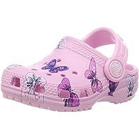 Crocs 卡骆驰儿童经典蝴蝶洞鞋 幼儿水鞋 一脚蹬女童凉鞋