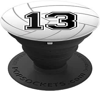 排球号码 13 排球运动员 13 岁生日 Zx260027  黑色