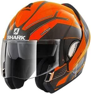 鲨鱼 - 摩托车头盔EVOLINE 3 HATAUM H.V. OKA