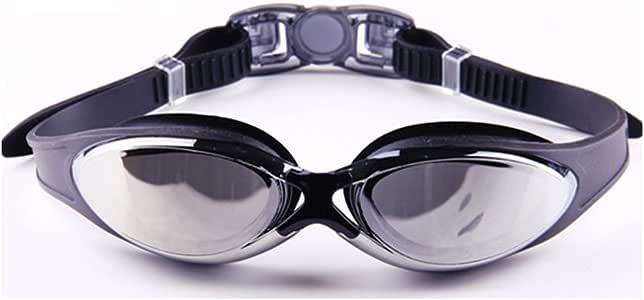 Fit Active Sports 防雾泳镜带泳镜 - 适合男士、女士、男孩、女孩、儿童 - 水晶透明室内外游泳