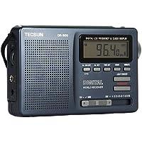 TECSUN 德生 DR-920 数码显示全波段钟控收音机(颜色随机 黑色 、银色)