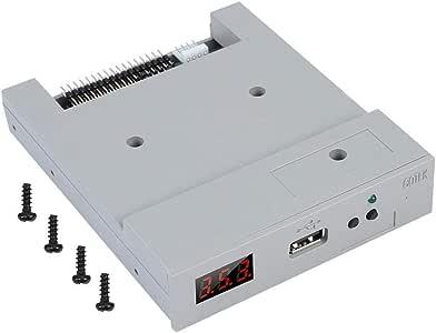 AYNEFY FAT32 驱动器模拟器,SFR1M44-U100 3.5英寸 1.44MB USB SSD 软盘驱动器模拟器套装包括 1 个 USB 模拟器和 3 个螺丝,方便使用插头操作