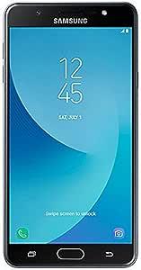 "Samsung 三星 ON Max 4G LTE 工厂解锁手机,G615FU / DS 13MP 32GB 4GB RAM 国际型号-黑色,5.7""(约14.48厘米)"