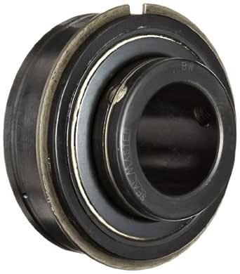 Sealmaster ERX-23 HIY 宽内环球轴承,高温,扩展型,螺丝锁定项圈,轻接触式 Nomex 毛毡密封,Krytox GPL227 高温润滑脂,直径 1-7/16 英寸,宽 72mm OD,1-11/16 英寸