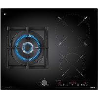 Teka Ig 620 1 G AI Al Dr NAT 集成 Combi Hob 黑色 - 板(内置,Combi Hob,玻璃和陶瓷,黑色,铸铁,1600 W)