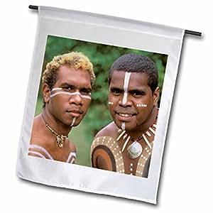 "danita delimont–aboriginal 文化–澳大利亚, queensland , aboriginal natives–AU01bba0087–BILL BACHMANN–旗帜 18 x 27"""
