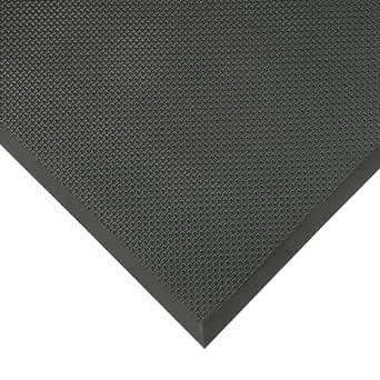 """NoTrax T17 *泡沫*/抗*地面垫适用于干燥区域 3'W x 3'L x 5/8"""" Thick T17S0033BL 1"""