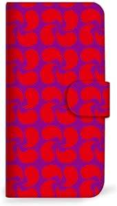 mitas iphone 手机壳196SC-0115-RD/SH-M01 4_AQUOS (SH-M01) 红色