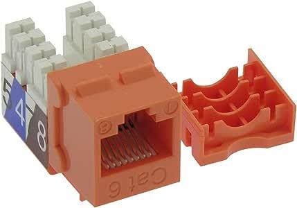 Beszin 6 RJ45 110 型钥匙扣 50-Pack