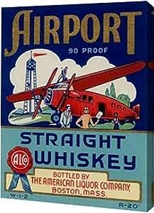"PrintArt 机场直驱威士忌 23"" x 30"" GW-POD-64-376162-23x30"