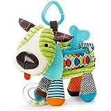 Skip Hop 围巾小伙伴 活动玩具 婴童毛绒玩具,彩色,小狗