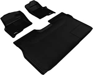 3D MAXpider 全套定制适合全天候地垫 黑色 L1FR07201509