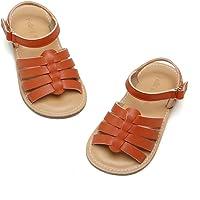 Felix & Flora 女童白金凉鞋 - 小童复活节礼服鞋尺码 6-12 适合夏季派对婚礼学校平底鞋