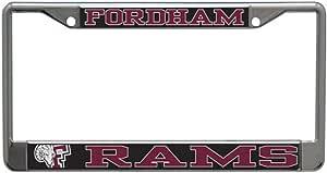 Wincraft Fordham University Rams 金属车牌架,2 个安装孔
