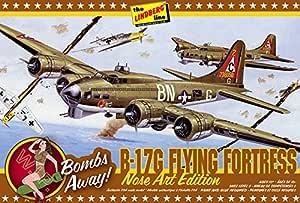 Lindberg Models 1:64 比例 B-17G 鼻子艺术版模型套件