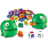Learning Resources 青蛙喂养趣味活动玩具套装 惊喜电动玩具 65件套,适合3岁以上儿童