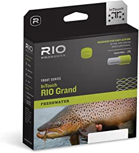 RIO InTouch Grand Fly Line Green-Gray-Yellow WF5F