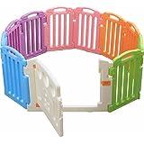 爱丽思 婴儿岛圈 11片套装 带*锁