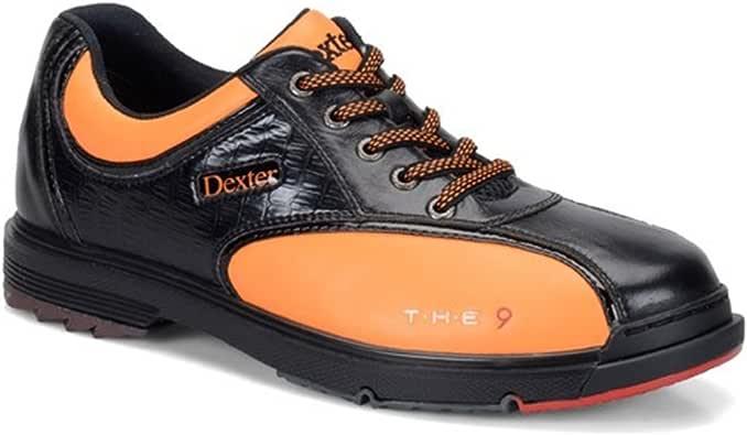 Dexter 男式 SST The 9 Limited Edition 保龄球鞋 - 黑色/橙色(美码 10 M )