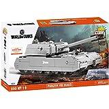 Cobi 八号鼠式坦克 SDKFZ 205 拼接玩具 COBI-3024 ,彩色