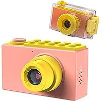 TURN RAISE 儿童数码相机迷你 1.5 英寸屏幕儿童摄像头,带存储卡 New Version Pink