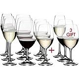 RIEDEL 力多 Ouverture白酒,红酒和香槟杯,12件套,透明