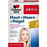 Doppelherz 皮肤+头发+指甲营养补充剂-含锌 透明质酸及二氧化硅 1 x 30片