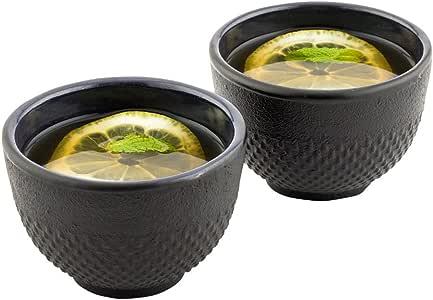 Tetsubin Prosperity Black Cast Iron Teapot 34 ounces 1 count box