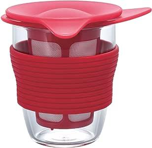 Hario 便捷茶具,200毫升,红色