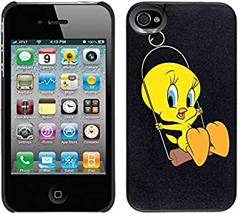 Coveroo Thinshield 可扣合式手机壳适用于 iPhone 4/4s - Tweety Swing。