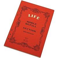 LIFE NOBLE REFILL系列 系统笔记本 方格 A5 R300