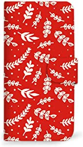 MITAS 智能手机保护壳翻盖型圣诞节红色  A 2_Xperia J1 Compact (Xperia_J1_Compact)