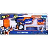 NERF Recon CQ-12 Elite 玩具枪,带 12 颗官方精英软头弹