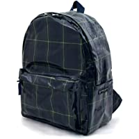 双肩包 格子布·深绿色 N0745500