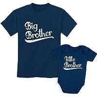 tstars 姐妹 shirts 套装适用于大兄弟和小 Brothers 男孩礼品套装