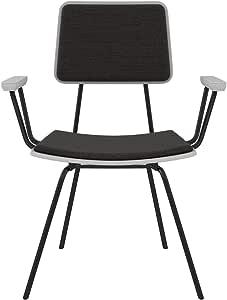 NyeKoncept 中世纪餐椅,灰色