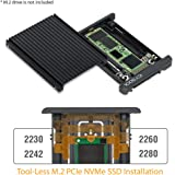 ICY DOCK M.2 PCIe NVMe SSD 至 2.5 英寸 U.2(SFF-8639) PCIe SSD 转换器适配器 - EZConversion MB705M2P-B