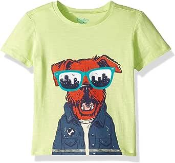 Hatley 男童短袖图案 T 恤