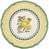 Villeroy & Boch 德国唯宝 French Garden系列 瓦朗斯早餐盘 21厘米 优质瓷 白色/彩色