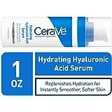 CeraVe 透明质酸面部精华  1盎司/30毫升  维生素B5保湿面部精华液  适合中性至干性皮肤 不含对羟基苯甲酸酯或香料
