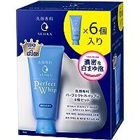 洗顔専科 洗面奶 PREFECT WHIP u 淡的新鲜花香 120克x 6 洗面奶套装