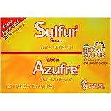 Grisi Bio 含兰醇的硫磺香皂,4.4 盎司 12片装