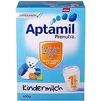 德国Aptamil 爱他美 婴儿配方奶粉1+段(1周岁以上) 600g/盒(德国进口 保税区发货)(新旧包装随机发货)
