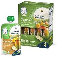 Gerber 嘉宝 Organic 椰子水 香蕉 芒果 南瓜混合果汁 104ml*16件装