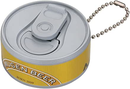 Infinite Mugen Beer Can Keychain Gold Ver。